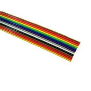 Cabo Flat Plano Color 12x26AWG 300V 70G  - Metro