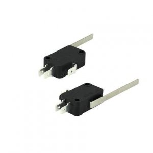 Chave Micro Switch 15A 250V Com Haste 59,8mm 023-0055