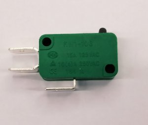 Chave Micro Switch 16A Verde 10.19.013