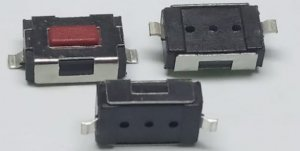 CHAVE TOQUE SMD 4x6x2,5mm KFC-A06 180G