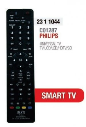 CONTROLE PHILIPS LCD LED UNIVERSAL C01287 23.1.1044